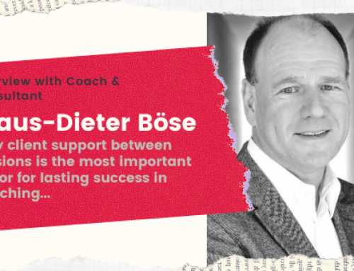"Case Study with Coach Klaus-Dieter Boese ""Why support between coaching sessions is essential"""